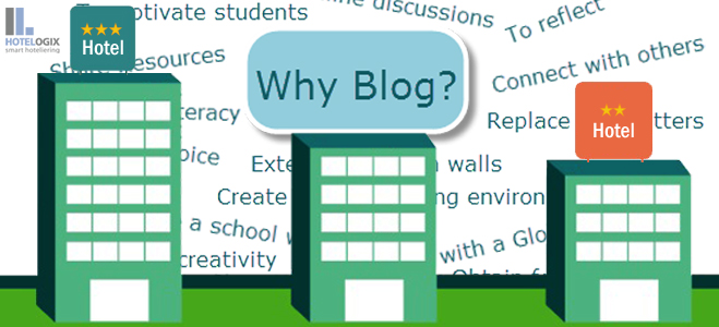 Benefits of blogging for hotels