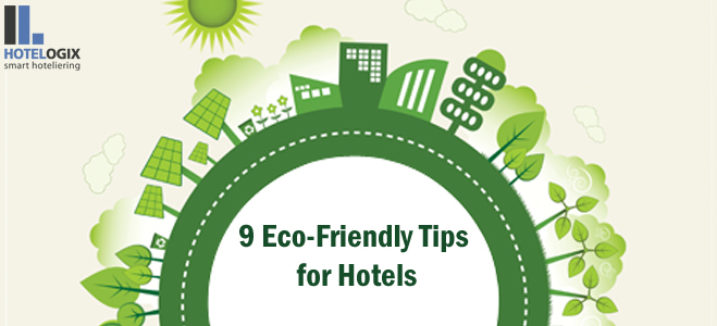 How can hotels go green