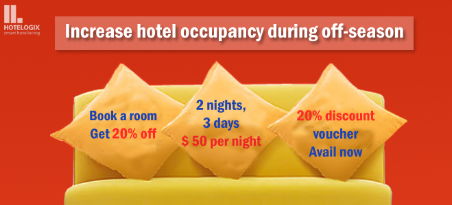 Increase hotel room occupancy during off-season months