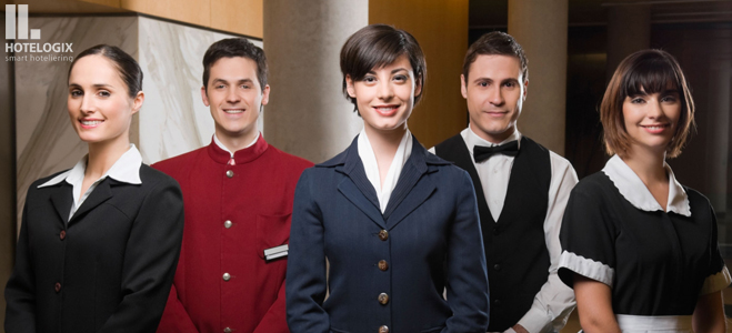 Train your hotel staff to attend to guests