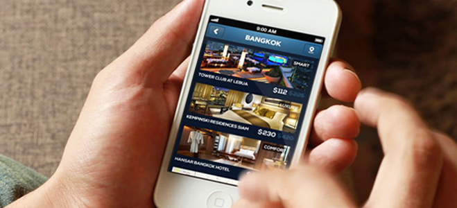 Hotel Bookings on Mobile