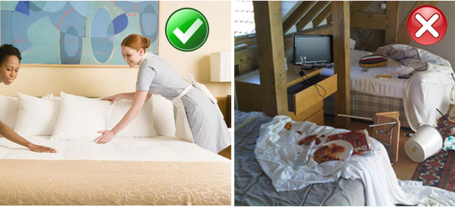 Housekeeping Tips
