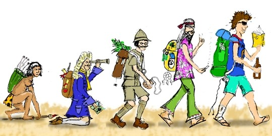 Evolution of Travelers