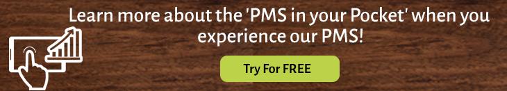 Hotel mobile PMS app