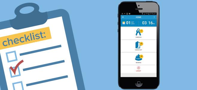 PMS mobile app