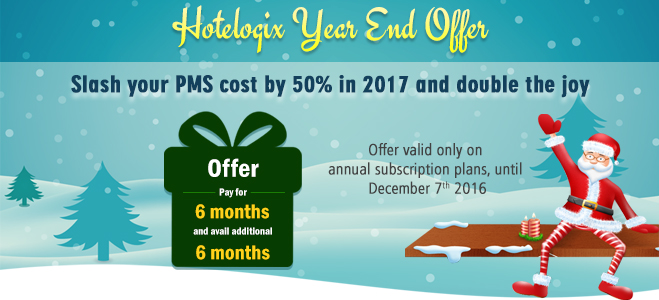 Hotelogix Year End Offer