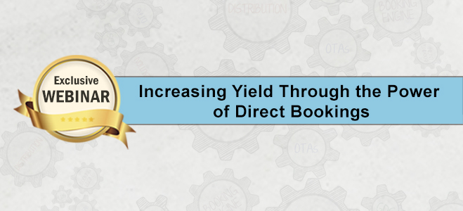 Maximize yield through direct bookings
