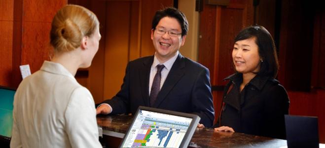 Automate hotel's core processes