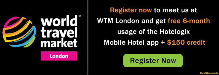Hotelogix Mobile Hotel app at WTM