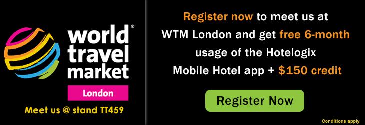 Hotelogix Mobile Hotel app at WTM