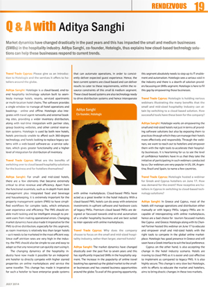 Aditya Sanghi talks about cloud based technology solutions