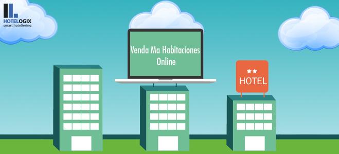 Aumento de ventas de habitaciones online.