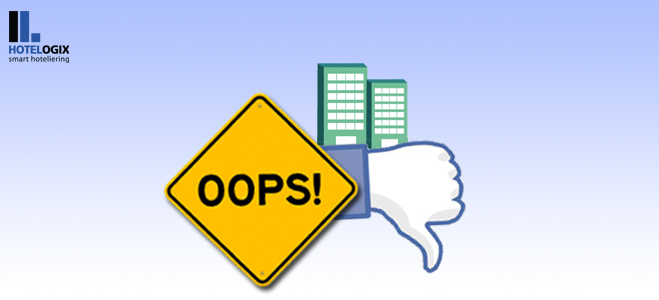 Social Media Mistakes by Hotels