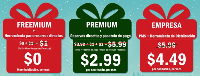 Oferta de Navidad de Hotelogix