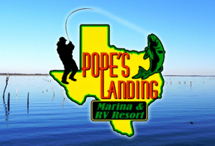 Pope's Landing Marina and RV Resort, Alba, Texas, USA