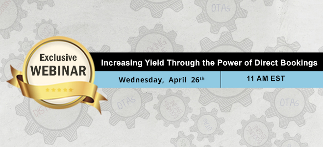 Webinar: Increasing Yield through the Power of Direct Bookings