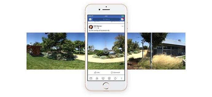 Facebook's 360-degree travel videos