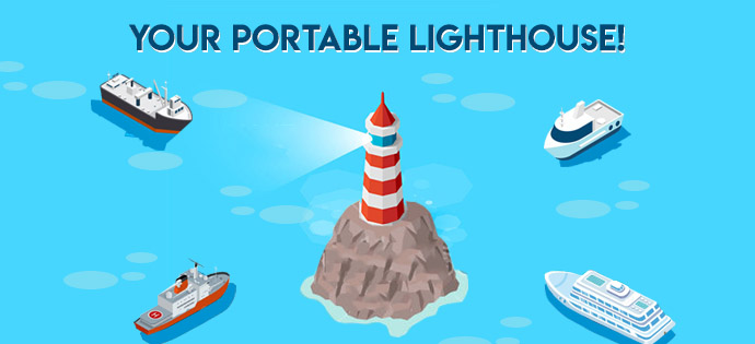 Your portable lighthouse!