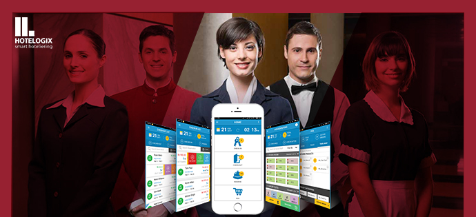 Mobile technology in hotels