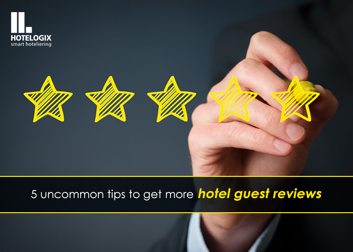 how to encourage online hotel guest reviews