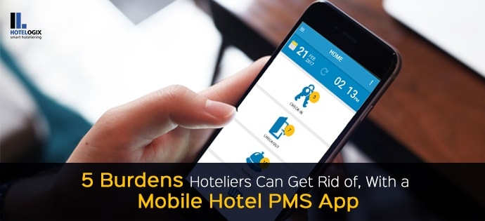 How a mobile hotel pms app helps hoteliers