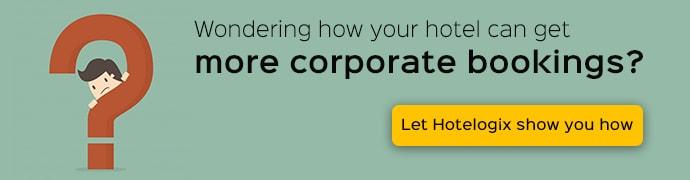 Increase corporate hotel bookings