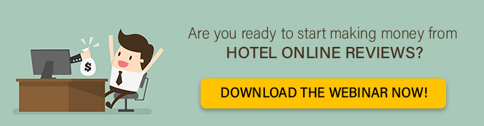 Make money from hotel reviews