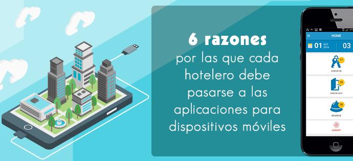6 formas en que su hotel puede beneficiarse de la aplicación móvil