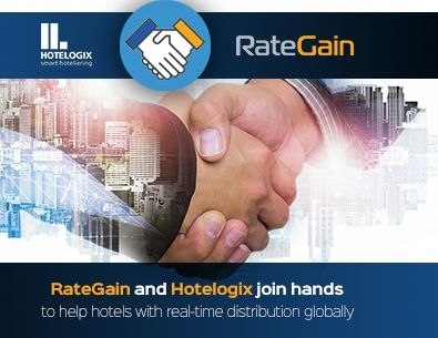 RateGain And Hotelogix Join Hands To Help Hotels With Real-Time Distribution