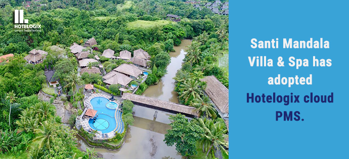Santi Mandala Villa & Spa in Bali adopts Hotelogix to automate operations | Hotelogix