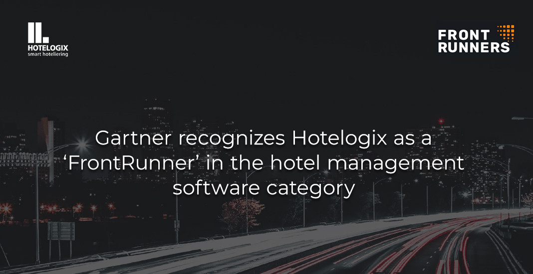 Gartner recognizes Hotelogix as a 'FrontRunner' in the hotel management software category