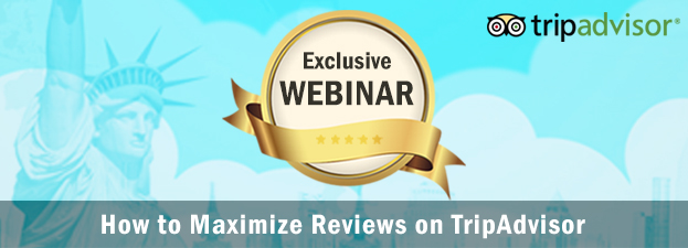 Hotelogix and TripAdvisor co-hosted a webinar that focused on: The importance of reviews to attract guests Free automated review collection tools How an independent property increased reviews by 300%