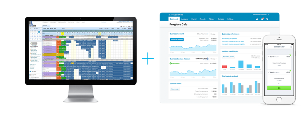 Hotelogix Cloud Hotel PMS Integrates with Xero Online