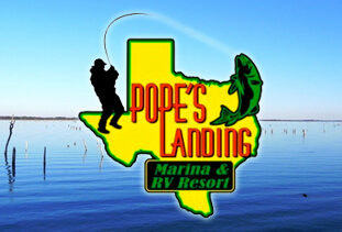 Pope's Landing Marina and RV Resort, Alba, Texas, USA