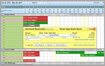 Hotelogix hotel frontdesk software
