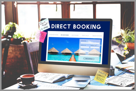 Hotel web booking engine