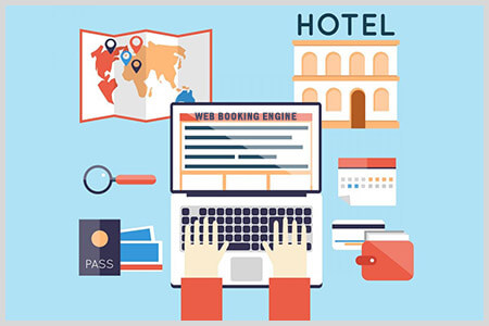 Integrate web booking engine