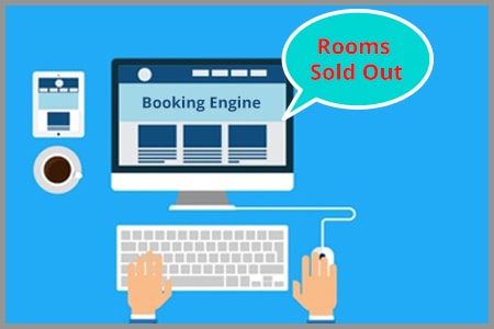 Smart web booking engine